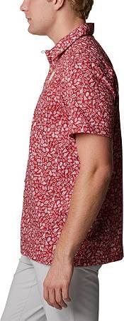 Columbia Men's Alabama Crimson Tide Crimson Slack Tide Button-Down Shirt product image