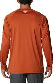Columbia Men's Texas Longhorns Burnt Orange Terminal Tackle Long Sleeve T-Shirt product image