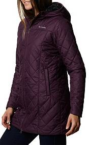Columbia Women's Copper Crest Insulated Long Hooded Jacket product image