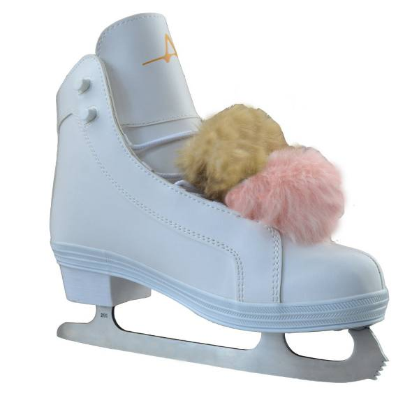 American Athletic Shoe Women's POM POM Figure Skates product image