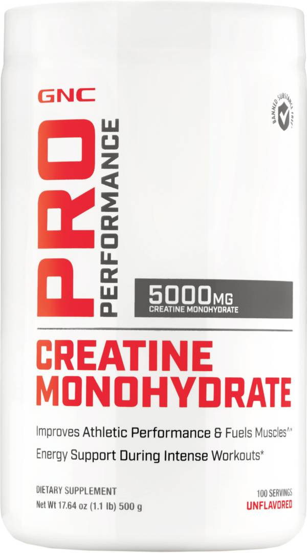 GNC Pro Performance Creatine Monohydrate 100 Servings product image