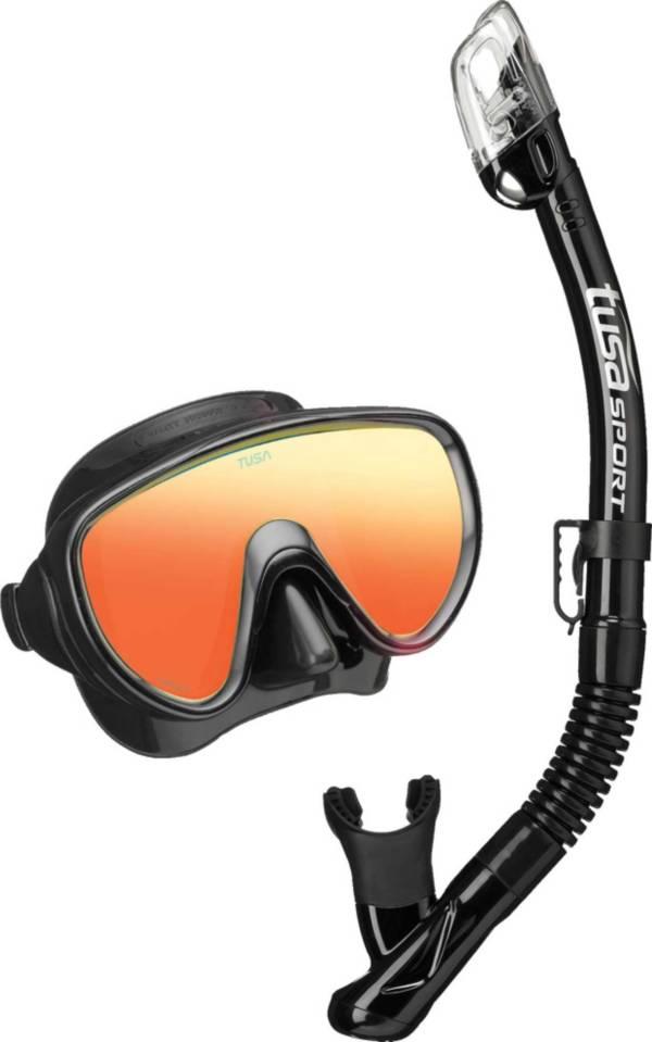 TUSA Sport Adult Serene Mirror Snorkeling Combo Set product image