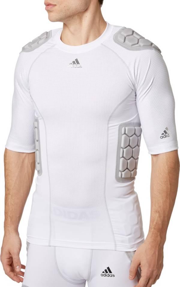 adidas Adult techfit® Half Sleeve Padded Football Shirt product image