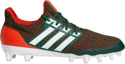 d5628404685 adidas Men s Ultraboost Miami Hurricanes Football Cleats