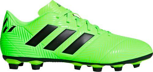 7f3cd33d7 adidas Men s Nemeziz Messi 18.4 FXG Soccer Cleats