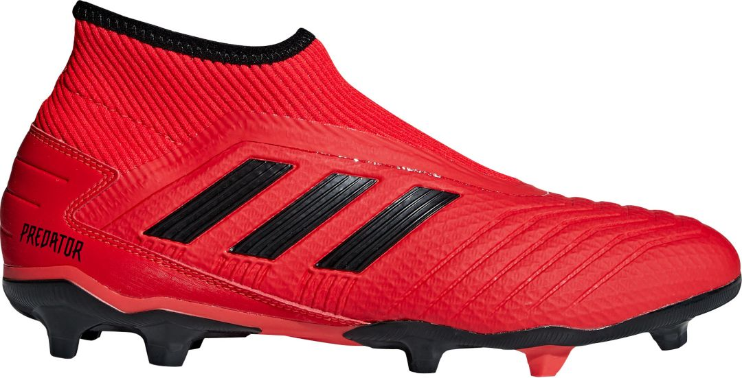 6d3419689 adidas Men's Predator 19.3 Laceless FG Soccer Cleats | DICK'S ...