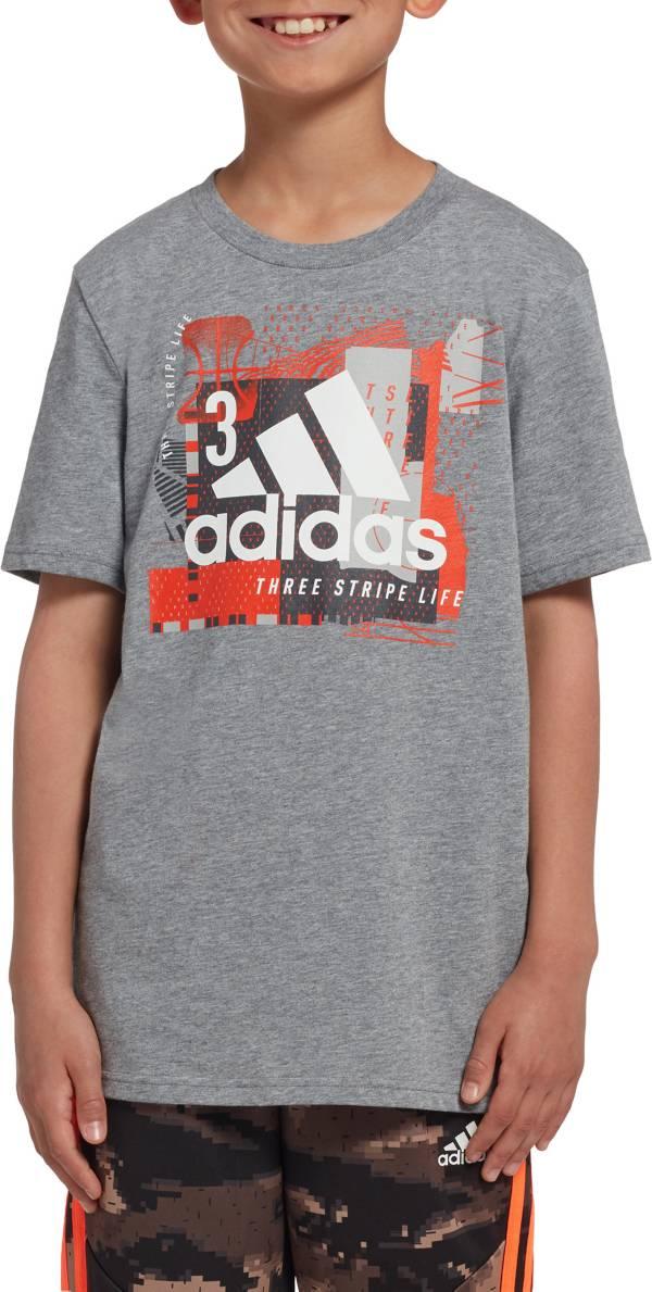 adidas Boys' Collage Mantra T-Shirt product image