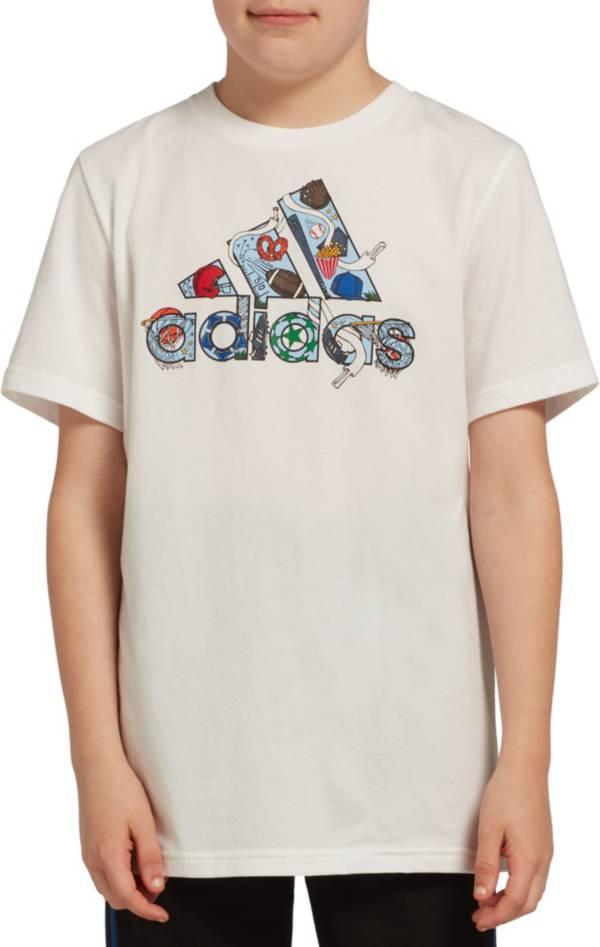 adidas Boys' Icon Badge Of Sports Graphic T-Shirt product image