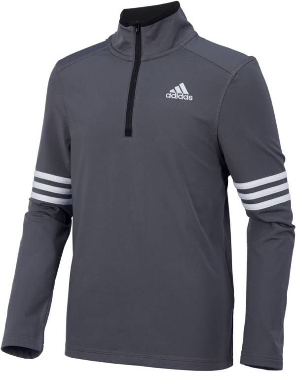 adidas Boys' Pursuit Half Zip Long Sleeve Shirt product image