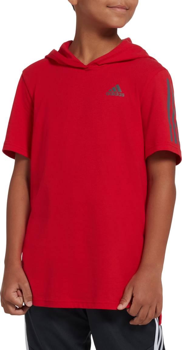 adidas Boys' Transition Hooded T-Shirt product image