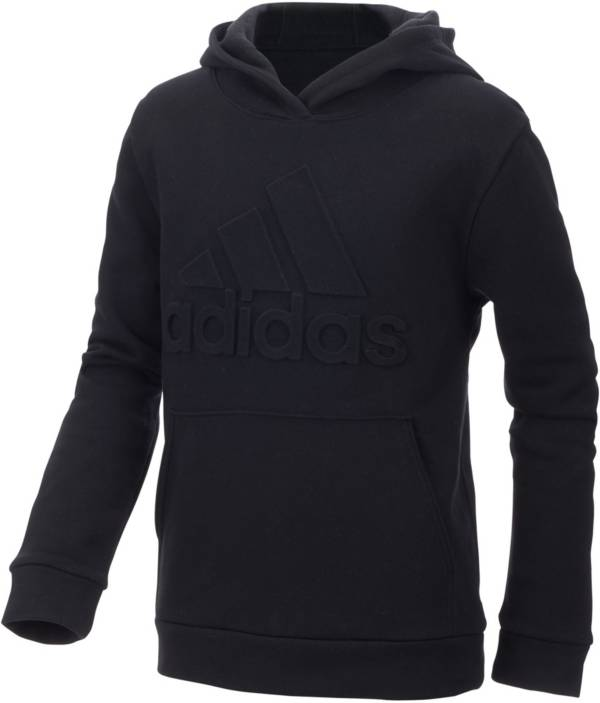 adidas Boys' Exclusive Embossed Logo Hoodie product image
