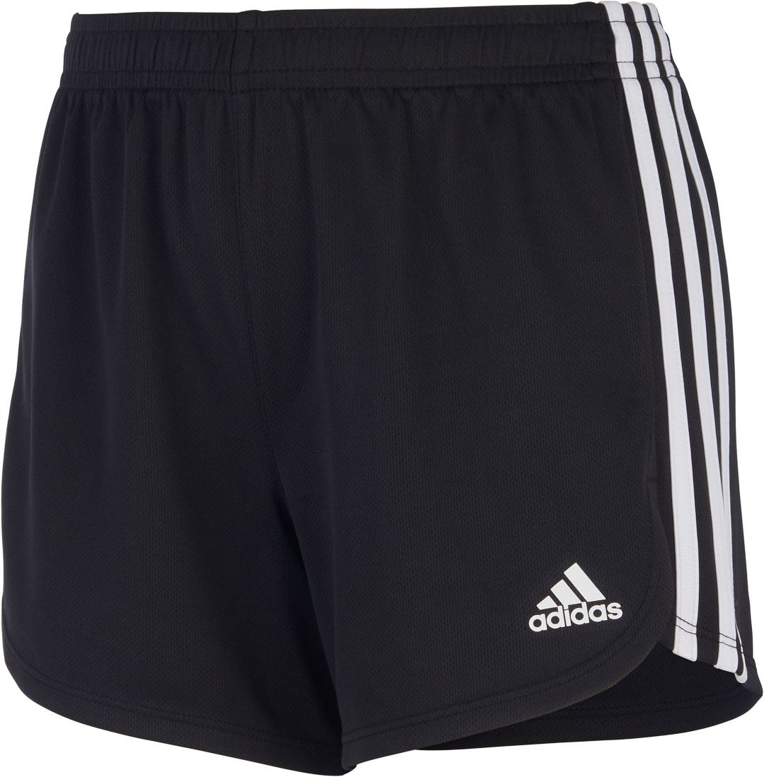 886bb8614 adidas Girls' 3-Stripes Mesh Shorts. noImageFound. Previous