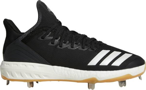 adidas Men's Icon 4 Gum Metal Baseball Cleats product image