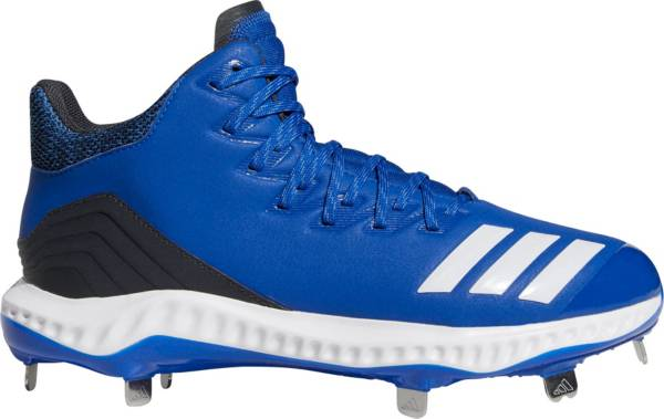 adidas Men's Icon Bounce Mid Metal Baseball Cleats product image