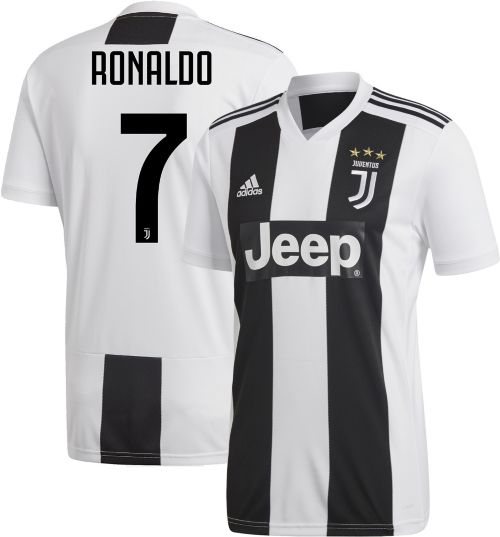 d53d09d73e6 adidas Men's Juventus Cristiano Ronaldo #7 Stadium Home Replica ...