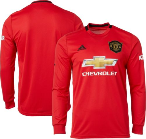 6ca3134d5051e adidas Men's Manchester United '19 Stadium Home Replica Long Sleeve Jersey.  noImageFound. Previous. 1. 2. 3