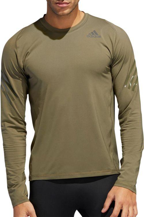 ff3823a4 adidas Men's Alphaskin 3-Stripes Long Sleeve Shirt. noImageFound. Previous