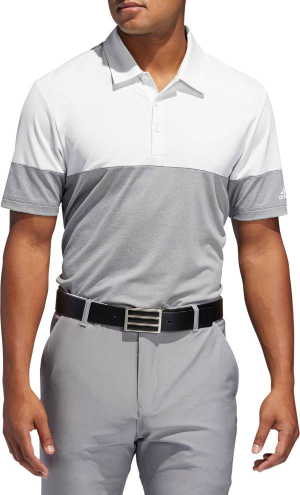 adidas Men's Ultimate365 Heather Block Golf Polo product image