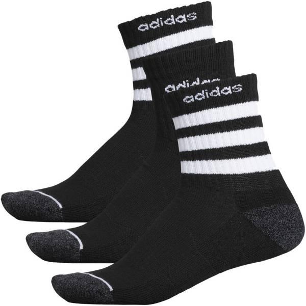 adidas Men's 3-Stripe Quarter Crew Socks - 3 Pack product image