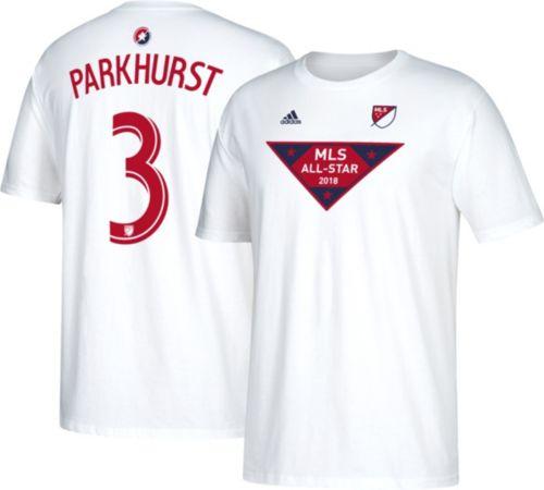 acfae04130ca adidas Men s 2018 MLS All-Star Game Michael Parkhurst  3 White ...