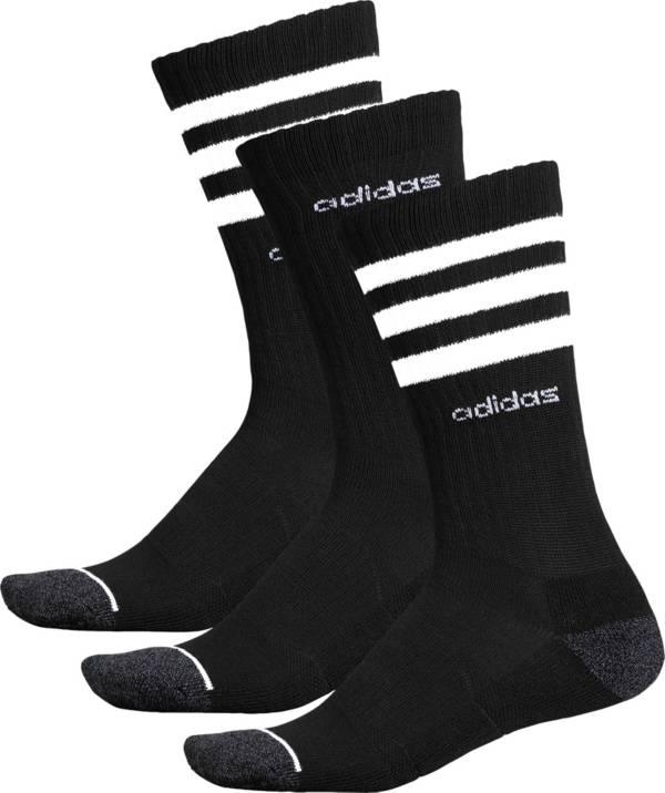adidas Men's 3-Stripe Crew Sock - 3 Pack product image