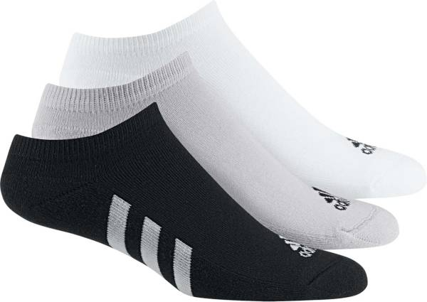 adidas Men's No Show Golf Socks – 3 pack product image