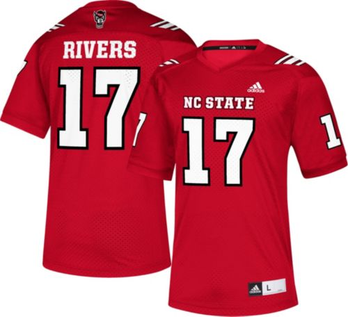 c15eba40a24 adidas Men's Philip Rivers NC State Wolfpack Red #17 Replica Football Jersey  | DICK'S Sporting Goods