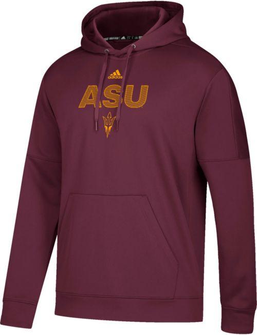 7a8ad4b3aee adidas Men s Arizona State Sun Devils Maroon Team Issue Performance Hoodie.  noImageFound. Previous