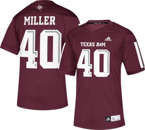 15bdcc1b5cd adidas Men's Von Miller Texas A&M Aggies Maroon #40 Replica Football Jersey.  noImageFound. Previous