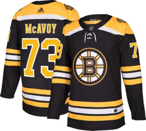 71a276ecf adidas Men s Boston Bruins Charlie McAvoy  73 Authentic Pro Home Jersey.  noImageFound. Previous