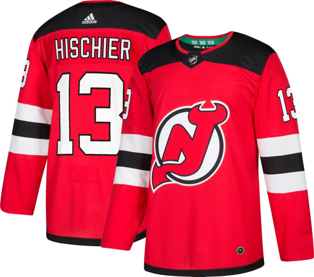 47296f5eb adidas Men's New Jersey Devils Nico Hischier #13 Authentic Pro Home Jersey.  noImageFound. Previous