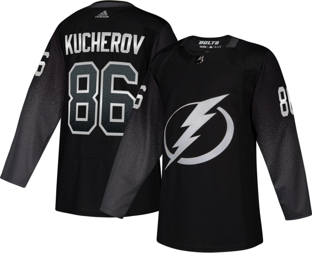 finest selection 8a9a1 f365c adidas Men's Tampa Bay Lightning Nikita Kucherov #86 Authentic Pro  Alternate Jersey