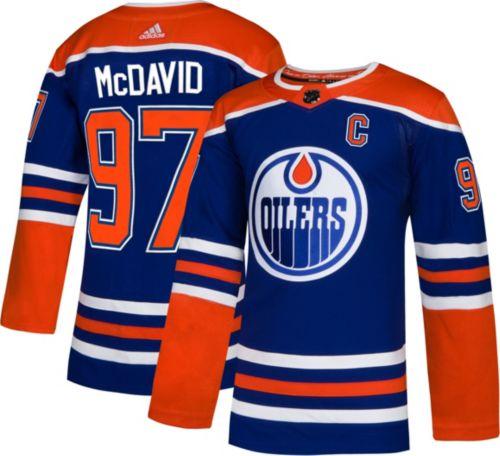 cb387dfcca3 adidas Men's Edmonton Oilers Connor McDavid #97 Authentic Pro ...