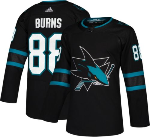 new arrivals fbd7a c2d8e adidas Men s San Jose Sharks Brent Burns  88 Authentic Pro Alternate Jersey