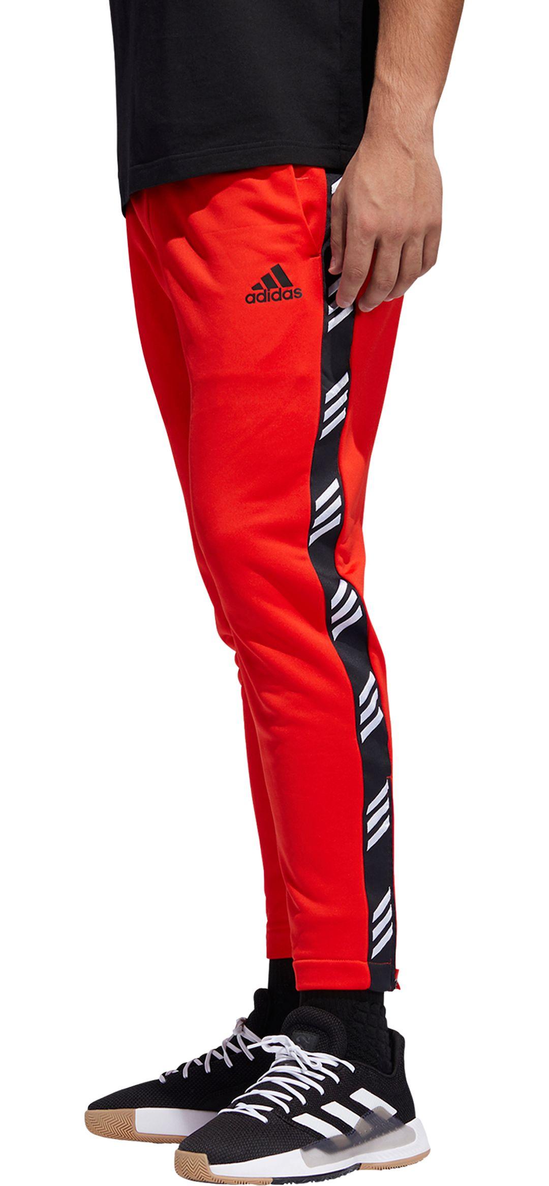 adidas Men's Pro Madness Basketball Track Pants