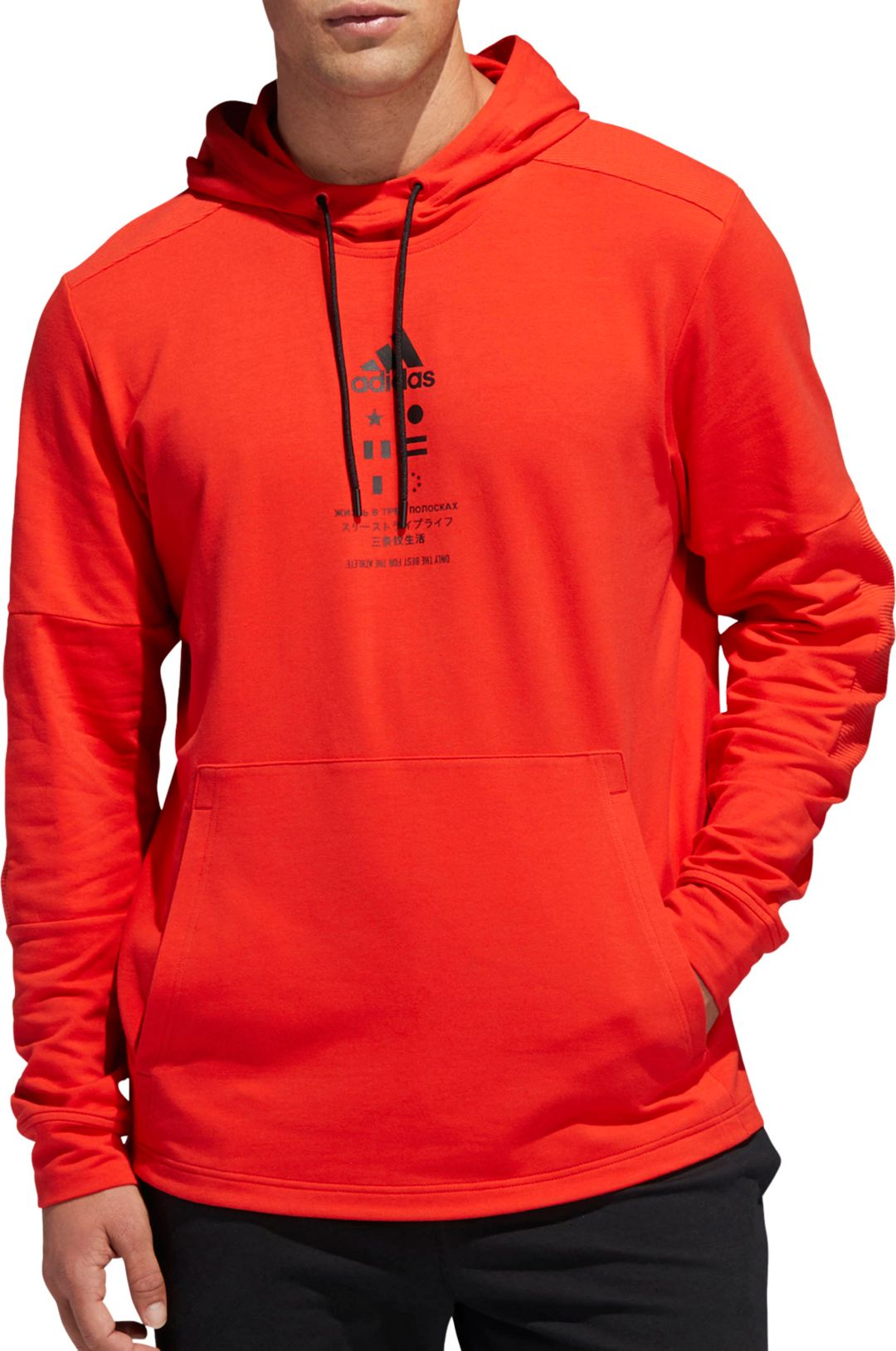 7937e54b adidas Men's Post Game Pullover Hoodie | DICK'S Sporting Goods