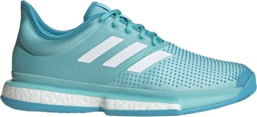 adidas Men s SoleCourt Boost X Parley Tennis Shoes  dfb26ccb4614