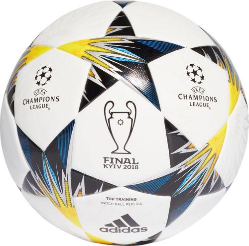 adidas UEFA Champions League Finale 2018 Kiev Top Training Soccer Ball.  noImageFound. Previous 093e9781b53af