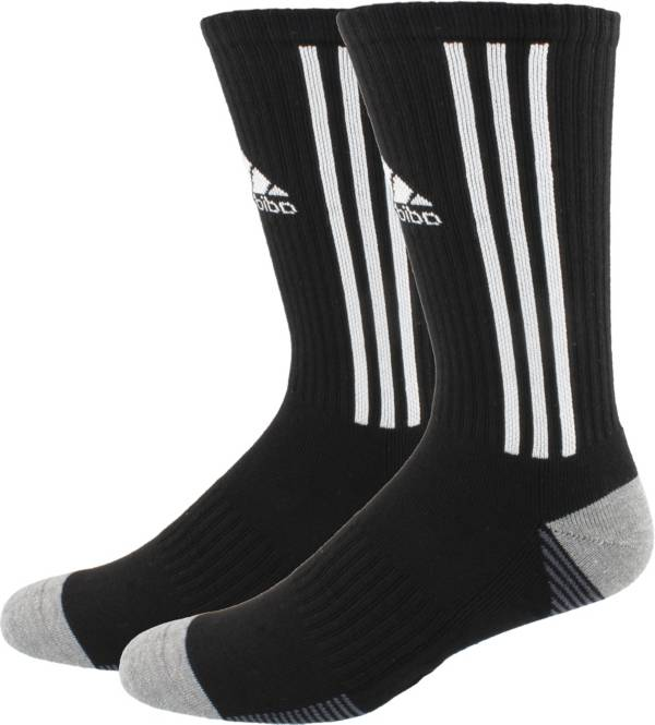 Not Pair Black // White # 5 - Large Number One Crew Digit Sports Sock Single Sock