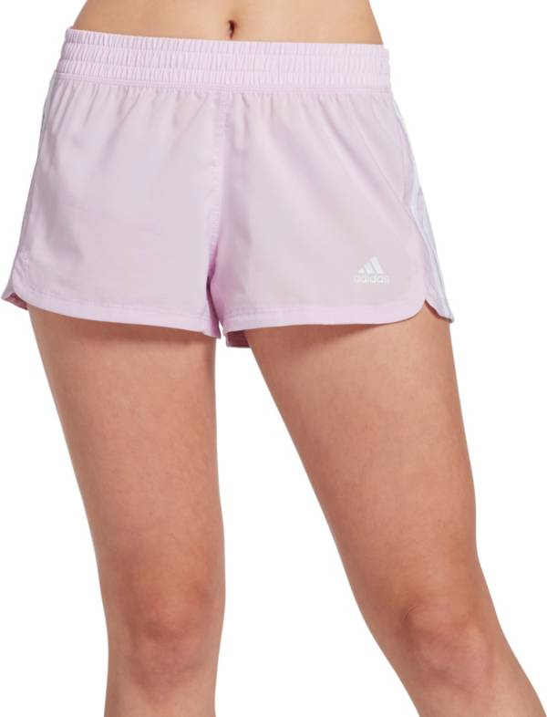 adidas Women's Pacer 3-Stripes Woven Shorts product image