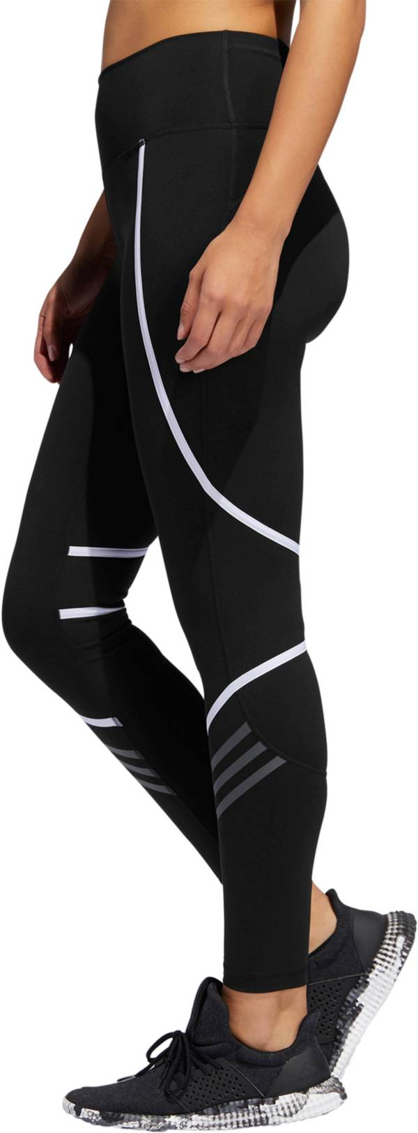 adidas Women's Believe This Elastic Wrap 7/8 Tights product image