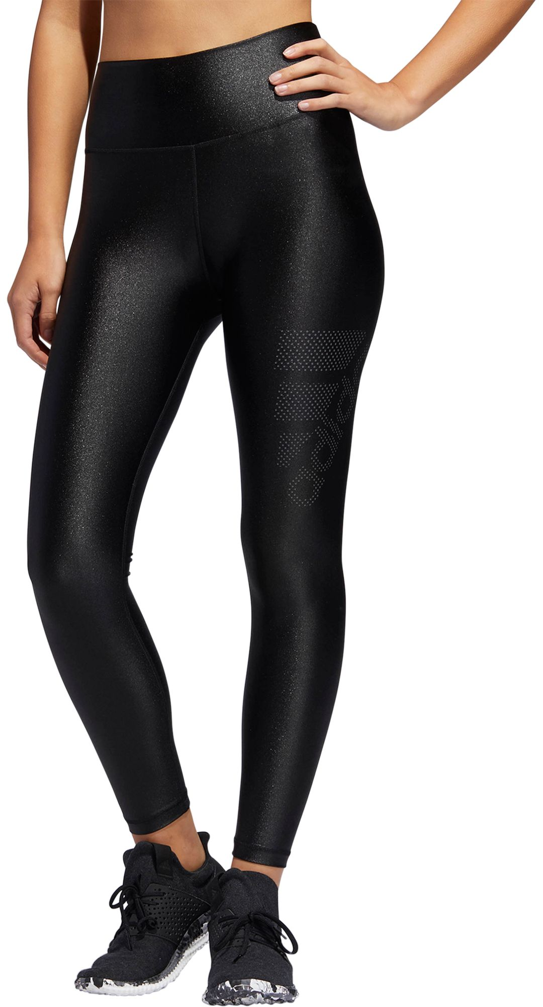 adidas Women's Believe This High Rise Matte Shine 78 Tights