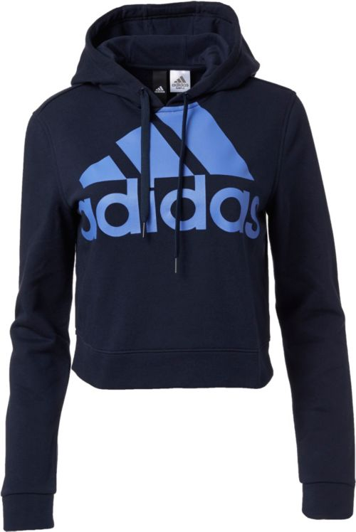 39eda2a02 adidas Women s Cropped French Terry Hoodie. noImageFound. Previous