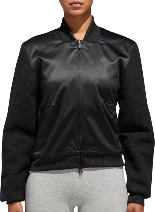 sports shoes ee83f 2e48d adidas Women s Sport ID Sherpa Bomber Jacket. noImageFound. Previous