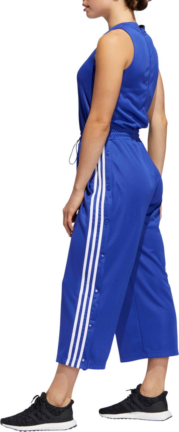 adidas Women's Cropped Leg Snap Romper product image