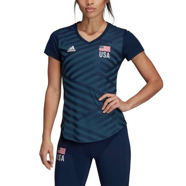 Adidas Women's USA Volleyball Replica T-Shirt product image