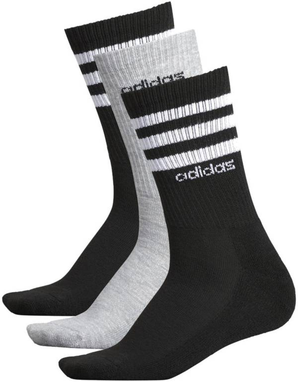 adidas Women's 3-Stripe Crew Socks - 3 Pack product image