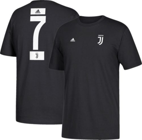 d307e2f01 adidas Youth Juventus Cristiano Ronaldo  7 Black Player T-Shirt.  noImageFound. Previous