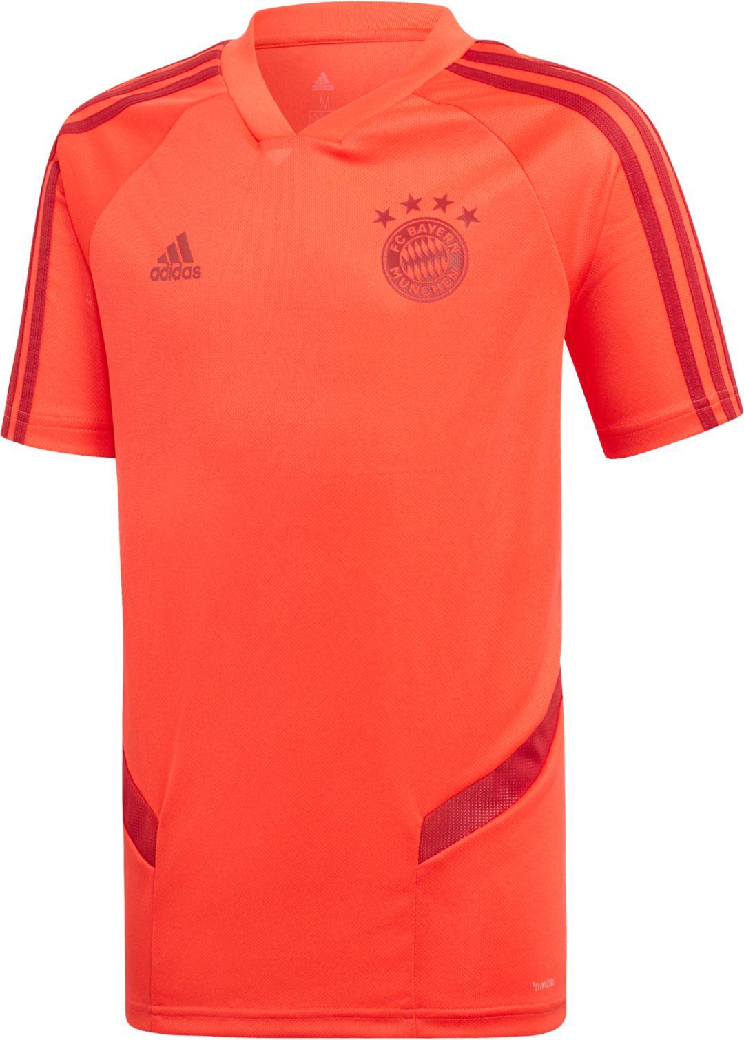 4db06670 adidas Youth Bayern Munich '19 Red Training Jersey | DICK'S Sporting ...