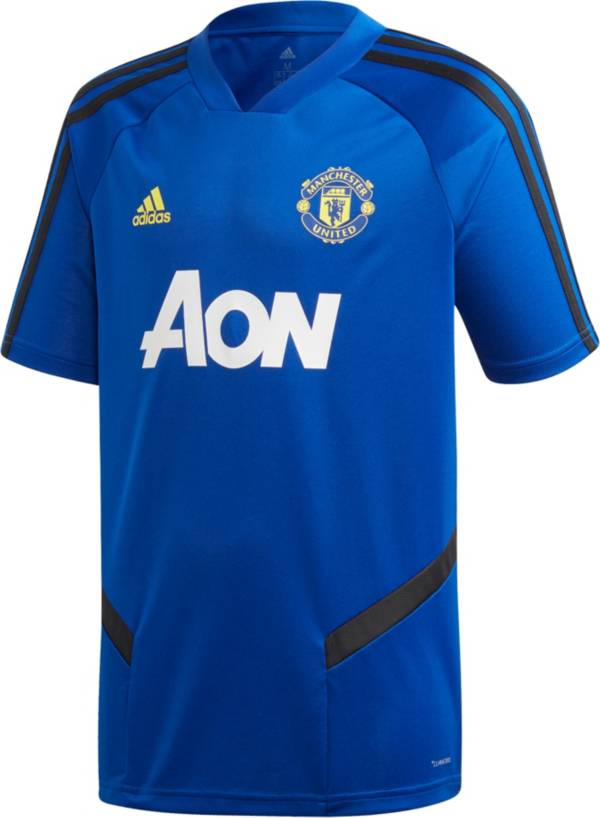 adidas Youth Manchester United '19 Royal Training Jersey product image